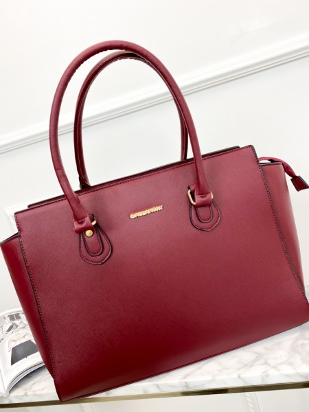 SAC EPAULE FALL VIBES RED
