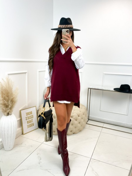 ROBE PULL FALL VIBES WINE