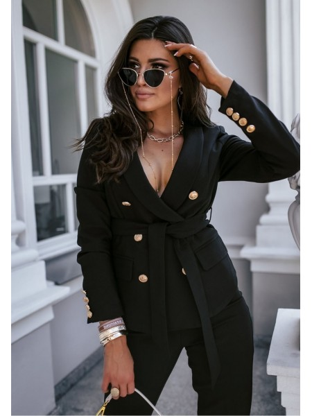 VESTE WORKING GIRL BLACK