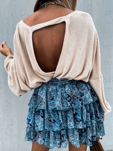 PULL MAILLE FINE BACKLESS...