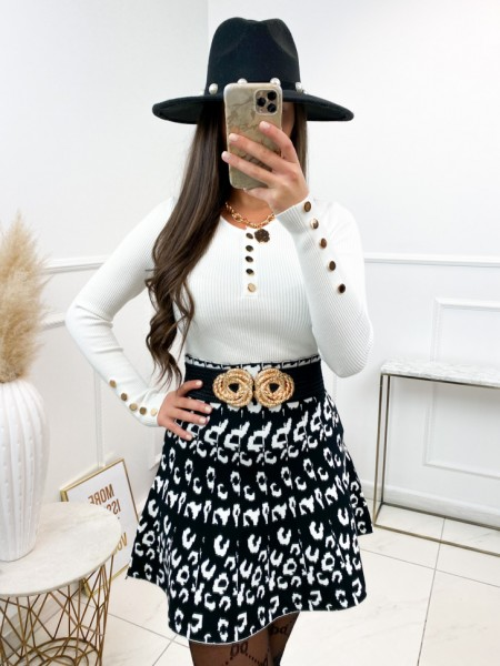 TOP COTELE BUTTONS GOLD &...