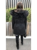 *** PARKA MAXI FOURRURE FULL BLACK ***