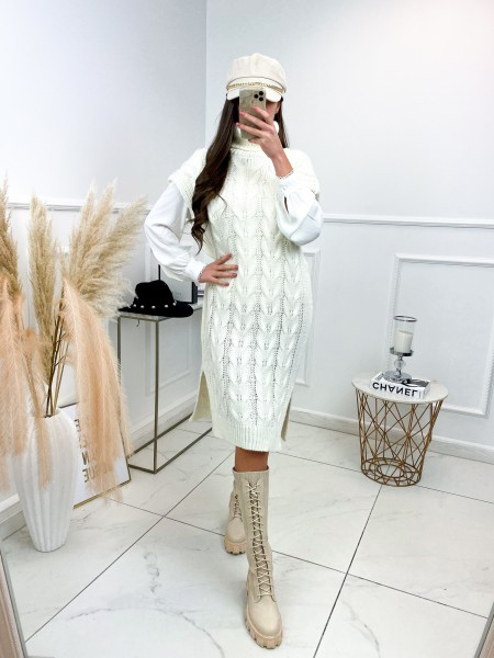 MAXI ROBE PULL MUST HAVE WHITE