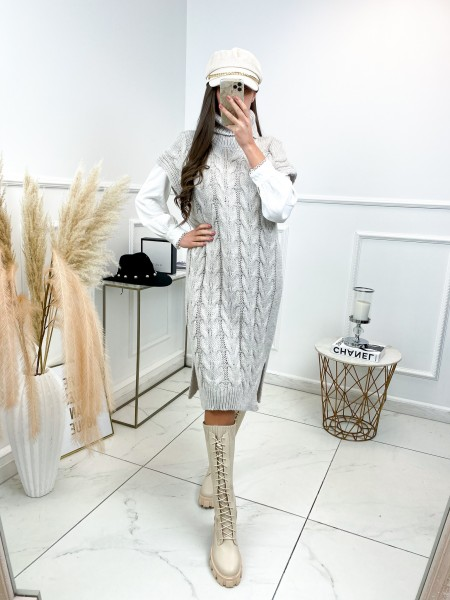MAXI ROBE PULL MUST HAVE NUDE
