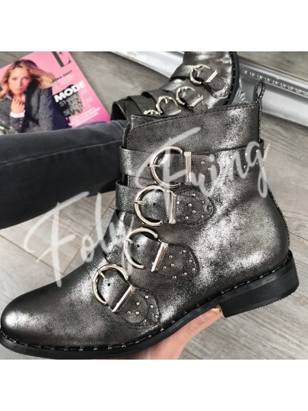 *** BOOTS MUST HAVE FASHIONISTA SILVER ***