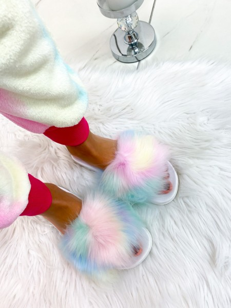 CLAQUETTES FUR UNICORN
