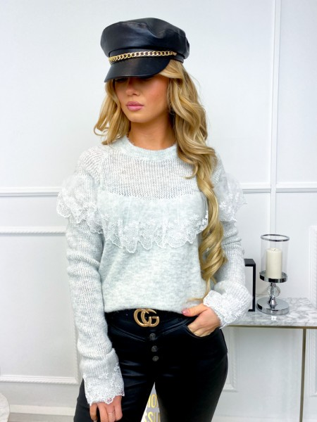 PULL MAILLE & TULLE...