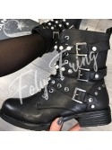 *** BOOTS PERLES MUST HAVE FASHIONISTA BLACK***