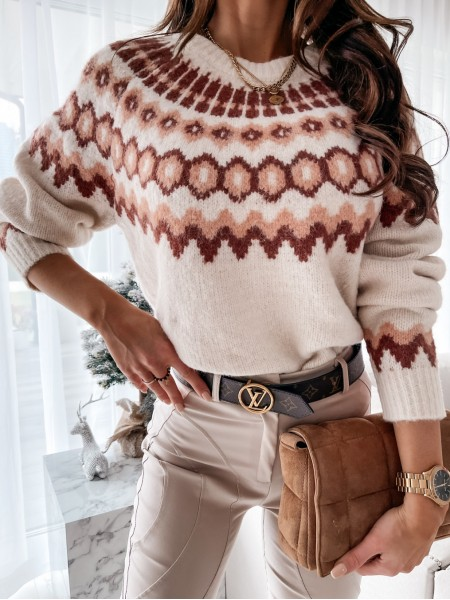 PULL WINTER COLLECTION WHITE