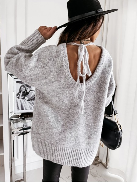 PULL DOUDOU DOS BACKLESS GREY