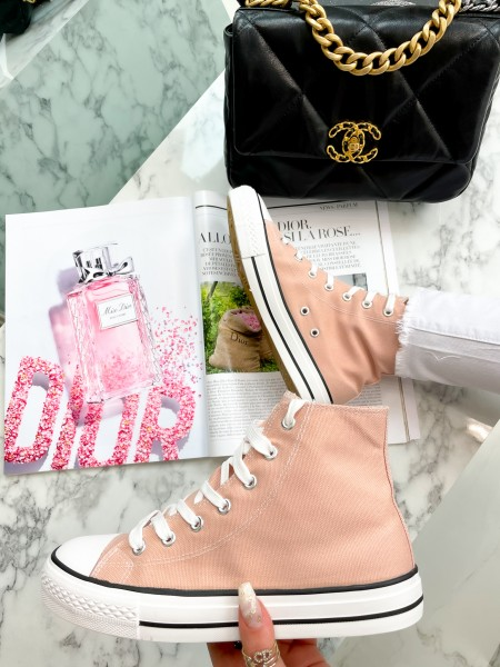 SNEAKERS MONTANTES PINK
