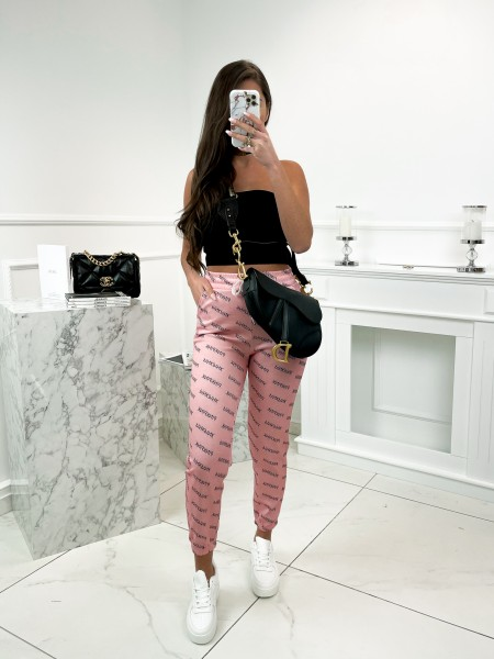 JOGGER PINKPINK A POCHES PINK