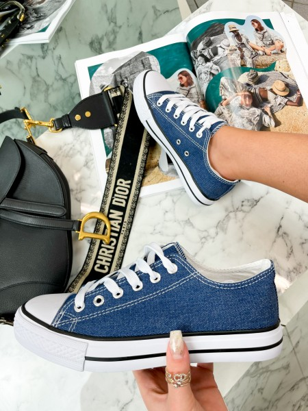 SNEAKERS BASSES BLUE JEANS