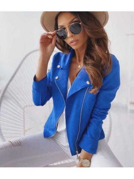 PERFECTO SUEDINE ELECTRIC BLUE