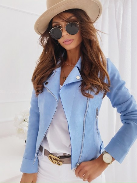 PERFECTO SUEDINE LIGHT BLUE