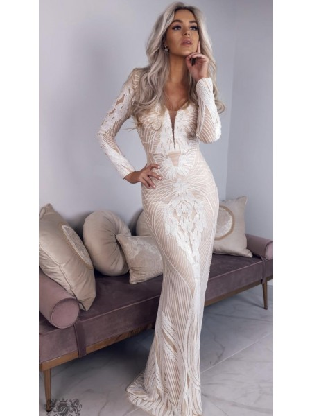 ROBE MANCHES LONGUES...