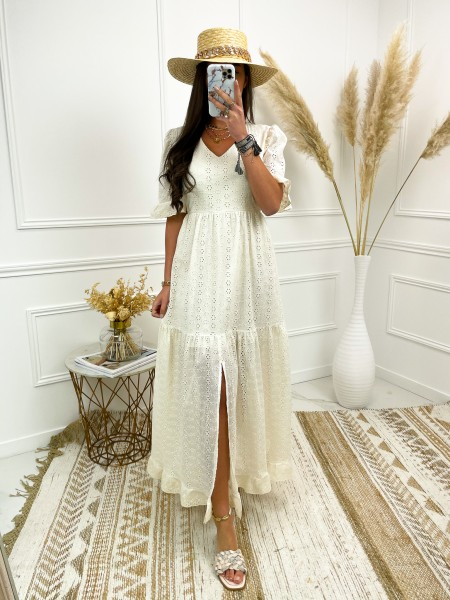MAXI ROBE BRODERIE ANGLAISE...