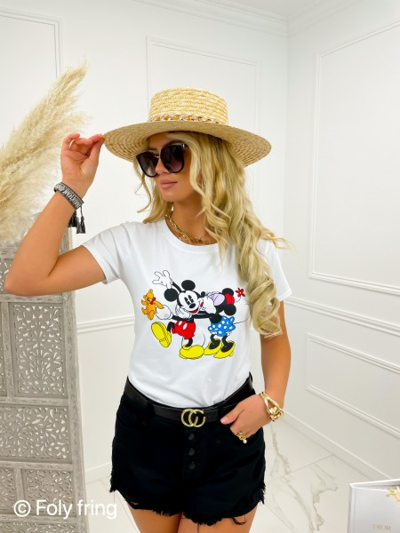 TSHIRT MICKEY & MINNIE...