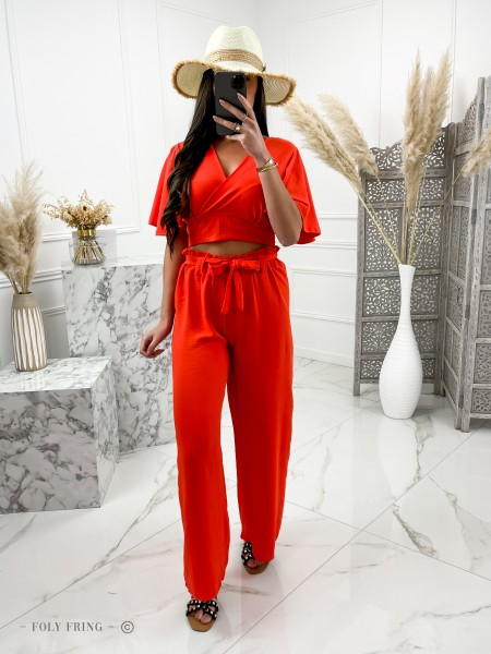 ENSEMBLE 2 PIECES ORANGE
