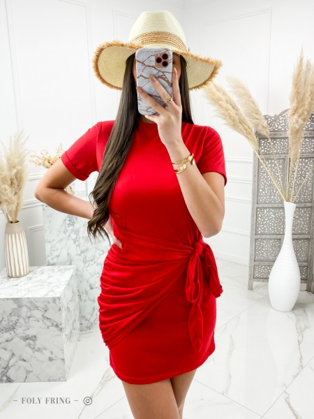 ROBE PORTEFEUILLE & NOEUD RED