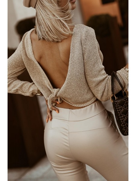 TOP SUMMER MAILLE BACKLESS...