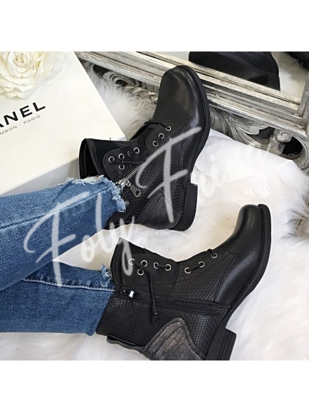 BOOTS BIKER CHIC  ****NEW SEASON COLLECTION****