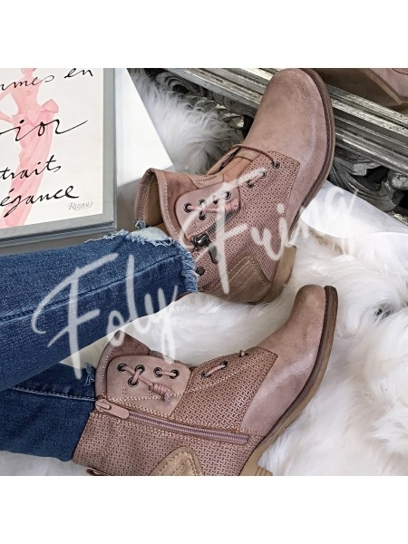 BOOTS BIKER CHIC  ****CARLA COLLECTION****