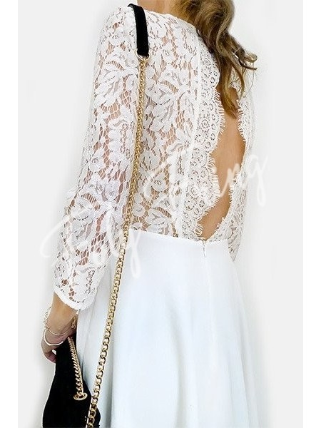ROBE DENTELLE RIGANE ANDY & LUCY