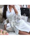 *** ROBE TUNIQUE A NOUER WHITE***
