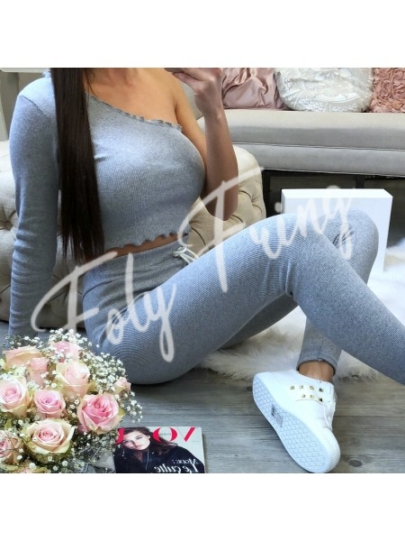 *** ENSEMBLE JOGGING MOLLETON FASHIONISTA GREY ***