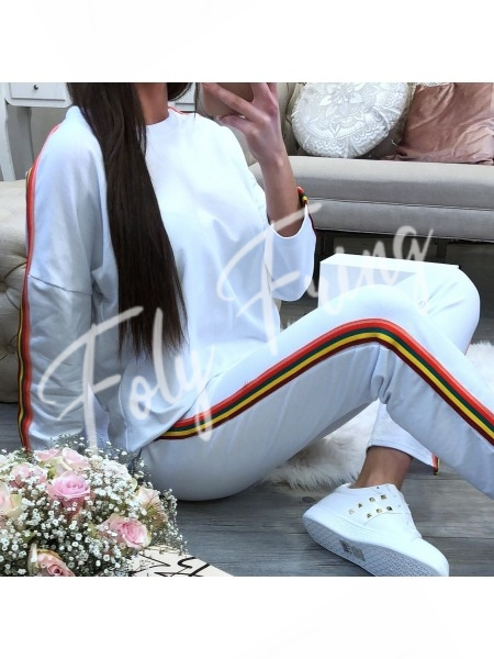 ***ENSEMBLE JOGGING FASHIONISTA WHITE ***