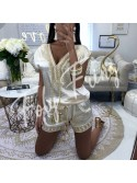 ***BLOUSE SATIN GOLD EDITION LIMITEE***
