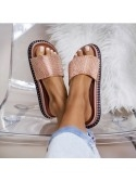 ****MULES STRASS ROSE GOLD****