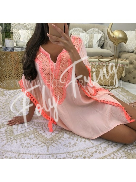 ***ROBE AZTEQUE PINK SUMMER 2018***
