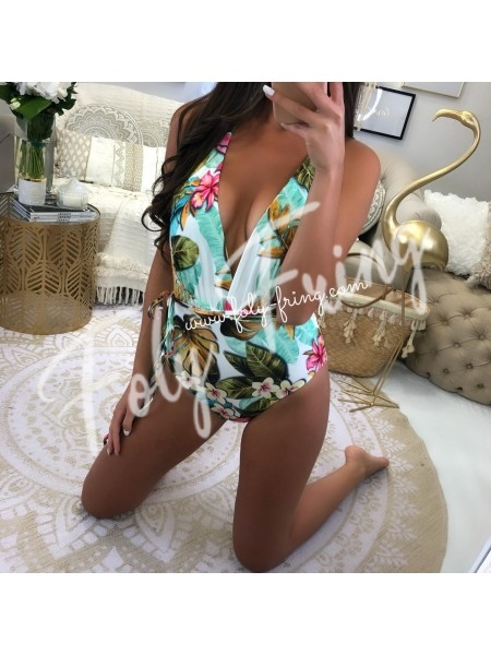 ***BODY / MAILLOT DE BAIN TROPICAL WHITE***