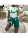 *** T-SHIRT VOGUE GREEN***