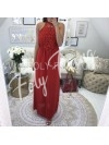 *** MAXI ROBE DENTELLE RED ***