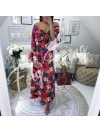 *** MAXI ROBE ANANAS RED ***