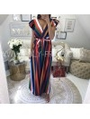 *** MAXI ROBE COLOR ME RED ***