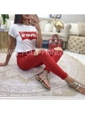 *** JEANS SKINNY PREMIUM COLLECTION RED***