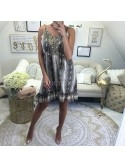 ***EDITION LIMITEE ROBE PYTHON BROWN***