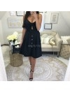 *** ROBE GIRLY BLACK ***