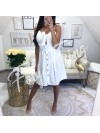 *** ROBE GIRLY WHITE***