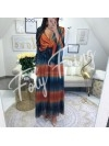 *** COLLECTION PRIVEE KAMILA MAXI ROBE BOHEME TYE & DIE ***