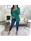 ***VESTE WORKING GIRL VERT EMERAUDE ***