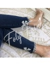 ***JEAN SKINNY PERLES & NOEUDS PREMIUM COLLECTION***