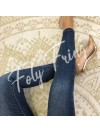 ***JEAN SKINNY ZIP NOEUDS PREMIUM COLLECTION***