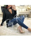 *** BLOUSE SATIN BLACK NEW SEASON ***