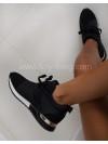 ***SNEAKER BIMATIERE BLACK ***