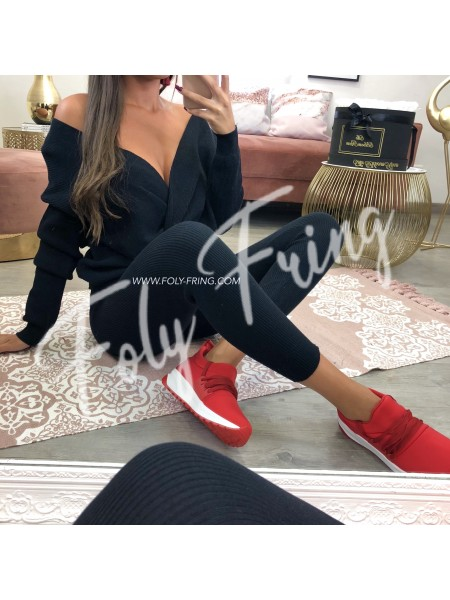 ***SNEAKER FASHIONISTA RED ***